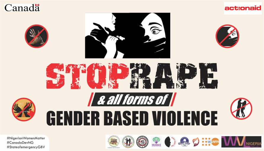 Stop Rape And All Forms Of Gender Based Violence
